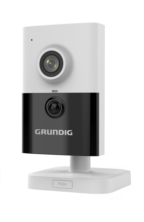 4 MP Mini Fixed Cube IP-Camera 2.8mm Lens