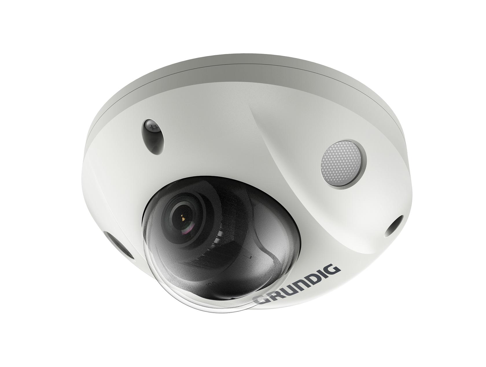 4 MP Mini Fixed Dome IP-Camera 2.8mm Lens