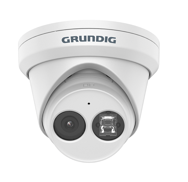 8 MP Turret IP-Camera 2.8mm IR LED WDR H.265+
