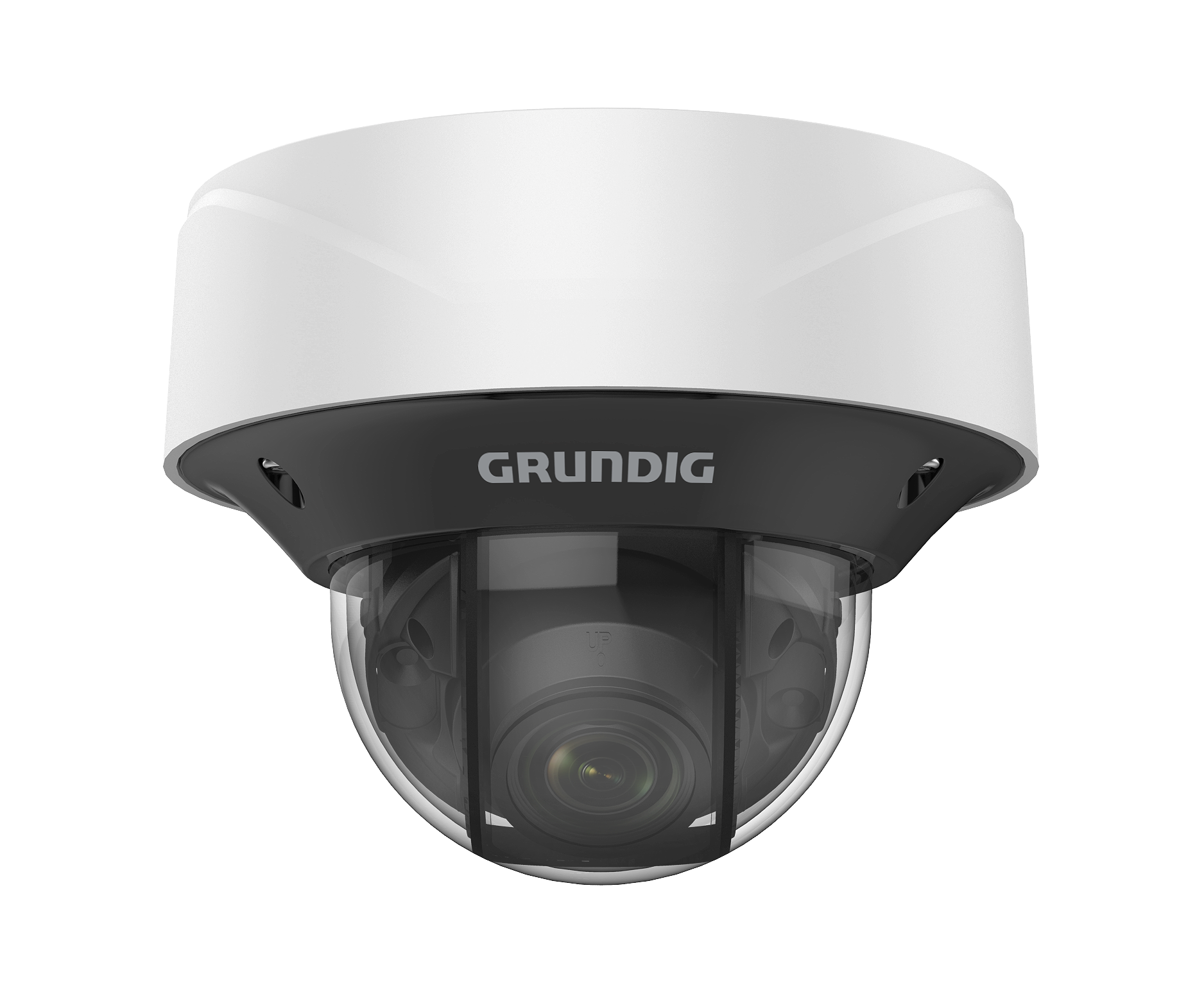 2 MP Fixed Dome IP-Camera 2.8~12mm Motorized