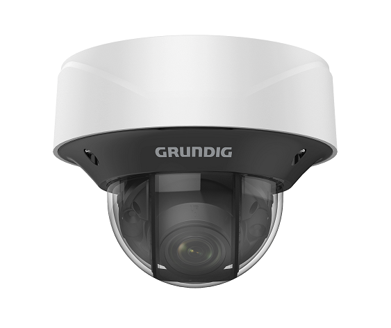 4 MP Fixed Dome IP-Camera 2.8~12mm Motorized