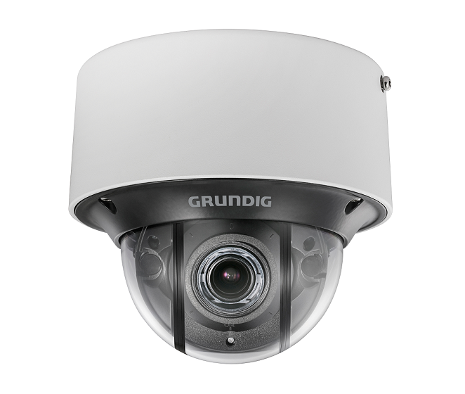 3 MP Fixed Dome IP-Camera 2.8~12mm Motorized