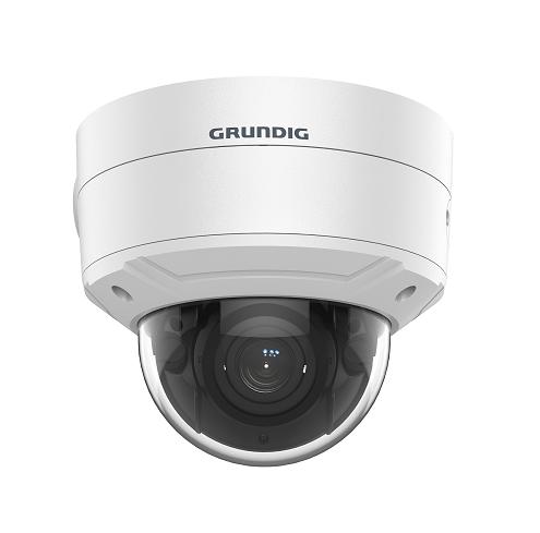 5 MP Fixed Dome IP-Camera 2.8~12mm Motorized