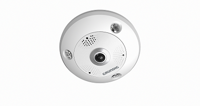 12 MP Fisheye Fixed Dome IP-Camera