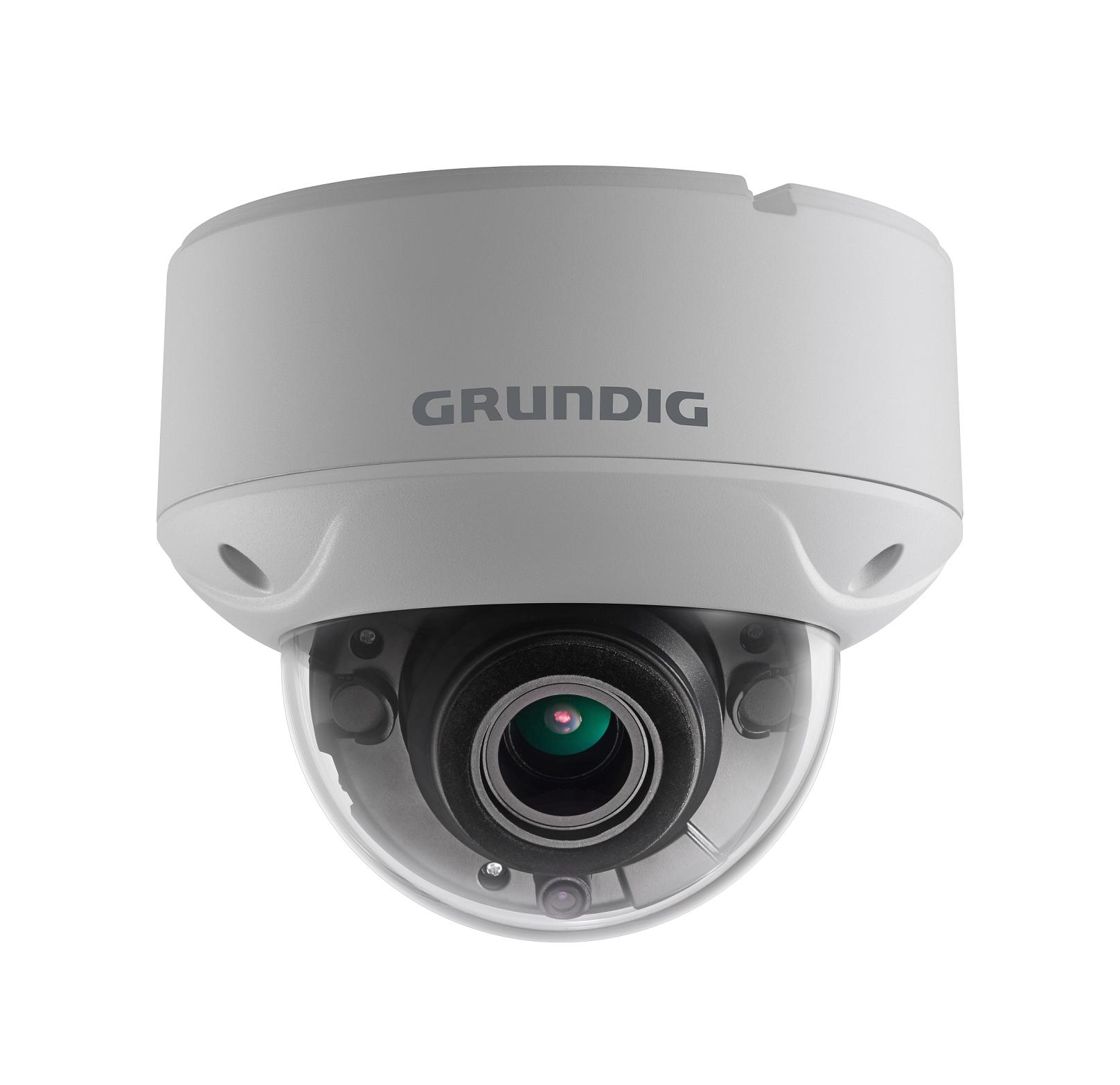 2 MP Fixed Dome HD-TVI Camera 2.8~12mm Motorized