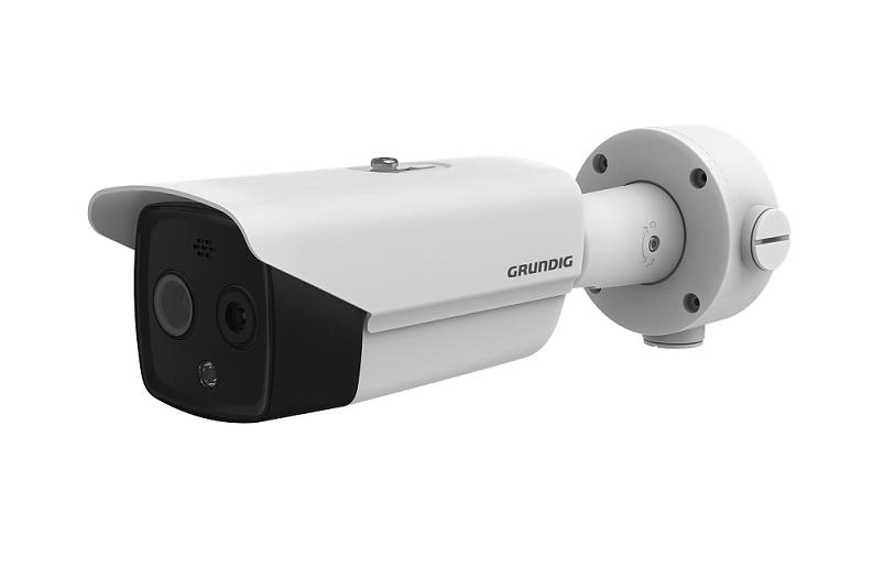 Thermal IP camera for body temperature measurement